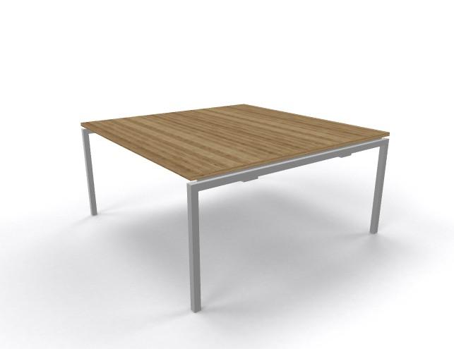 Vergadertafel vierkant 160x160cm