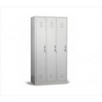 3-deurs garderobekast