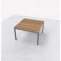 Vergadertafel vierkant 120x120cm